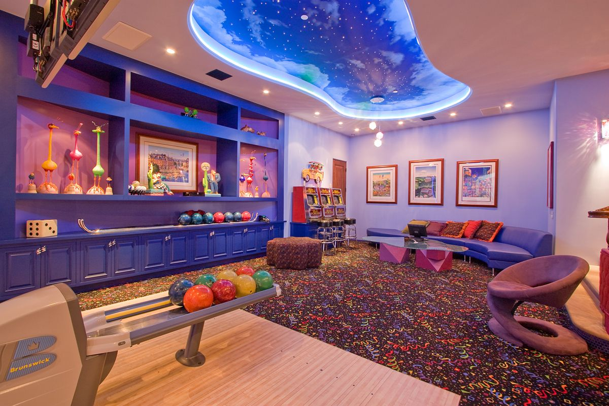 Fantasy Play Room For Kids Game Room Entertainment Room Game Room Basement