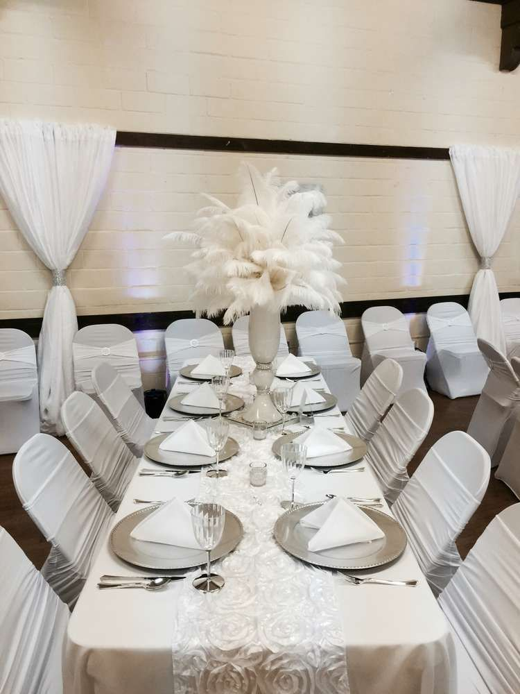 All White Party Birthday Party Ideas All White Party White