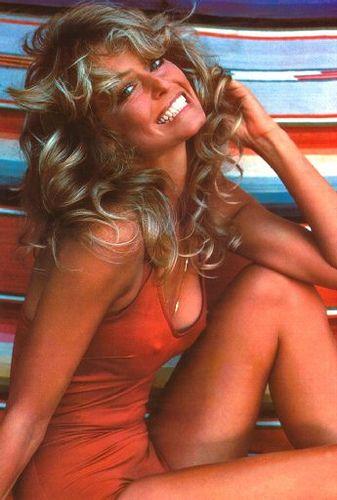 farrah fawcett, 70's pinup