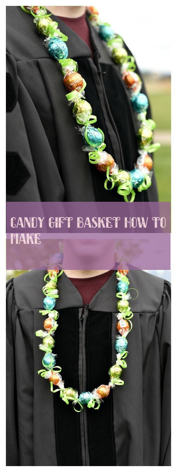 candy gift basket how to make