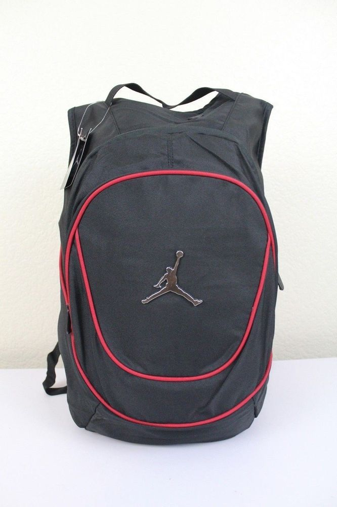 44b8e680b5ac NWT NIKE JORDAN Jumpman Backpack Black Red Laptop Tablet Storage Book Bag  9A1118  Nike  Bookbag9A1118391  ebay  Nike  Bookbag9A1118391