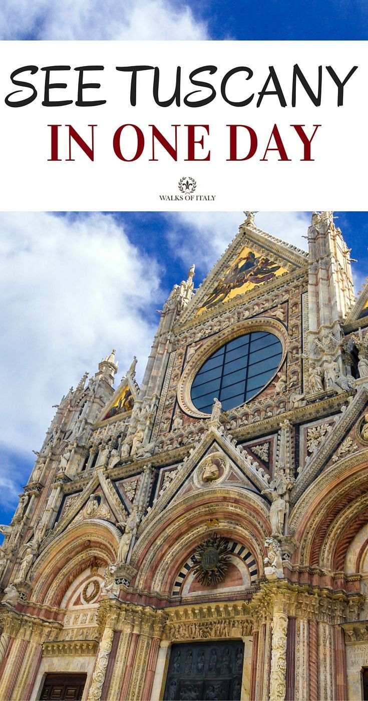 Italian Florence: Tuscany Day Trips From Florence: Siena & San Gimignano