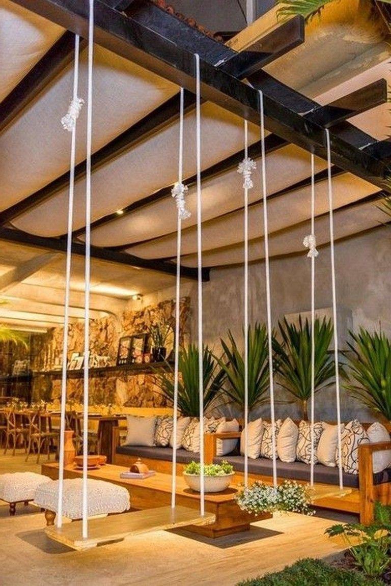 48+ wunderbare gemütliche Patio Design-Ideen