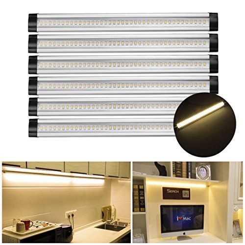 Sg 12inch 3000k Warm White 900lm Under Cabinet Light Led Under Counter Light With Switch Control 24w Fluoresc Fluorescent Tube Led Closet Light Closet Lighting