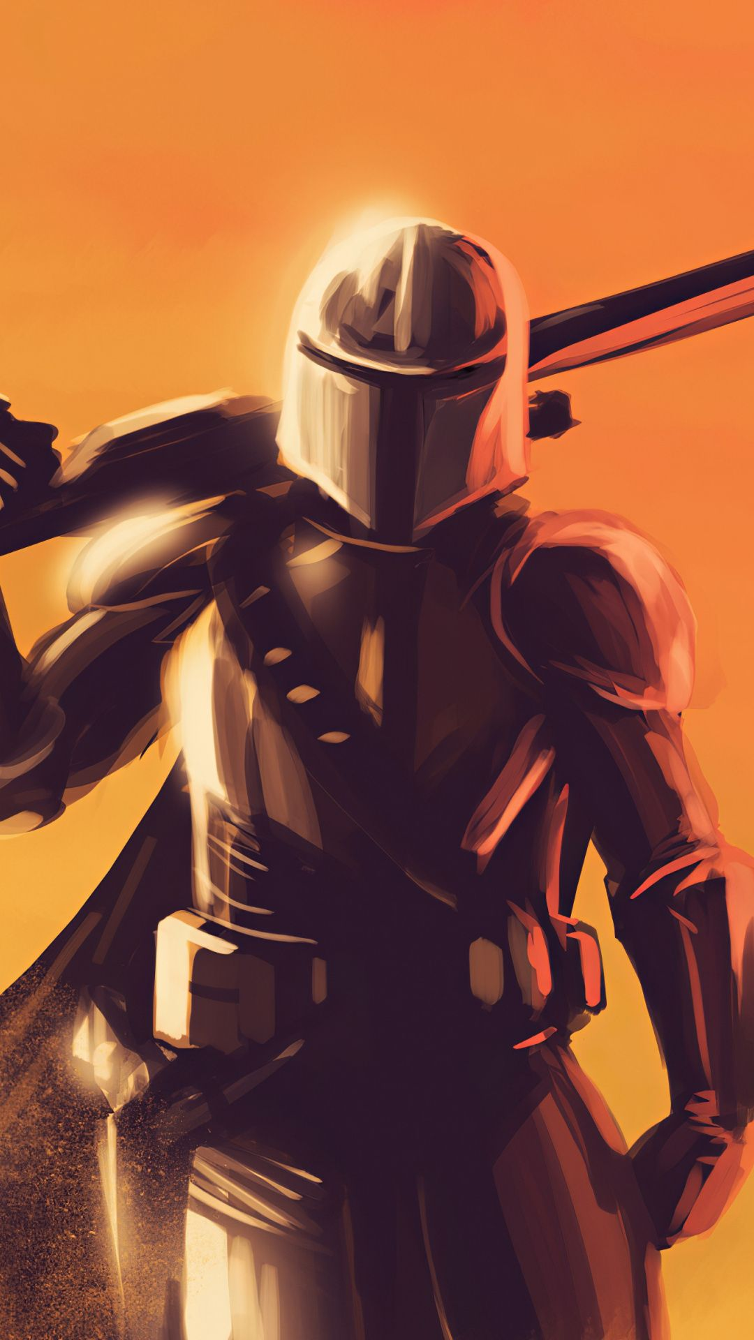 Mandalorian Wallpaper Home Screen Star Wars Drawings Star Wars Awesome Star Wars Art