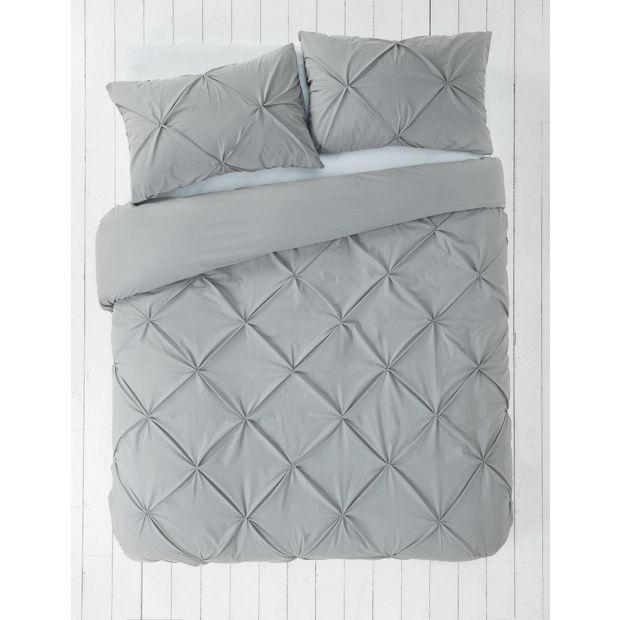 Buy Heart Of House Hadley Pintuck Bedding Set Kingsize At Argos Co Uk Visit Argos Co Uk To Shop Online For Duve Pintuck Bedding Duvet Cover Sets Bedding Set