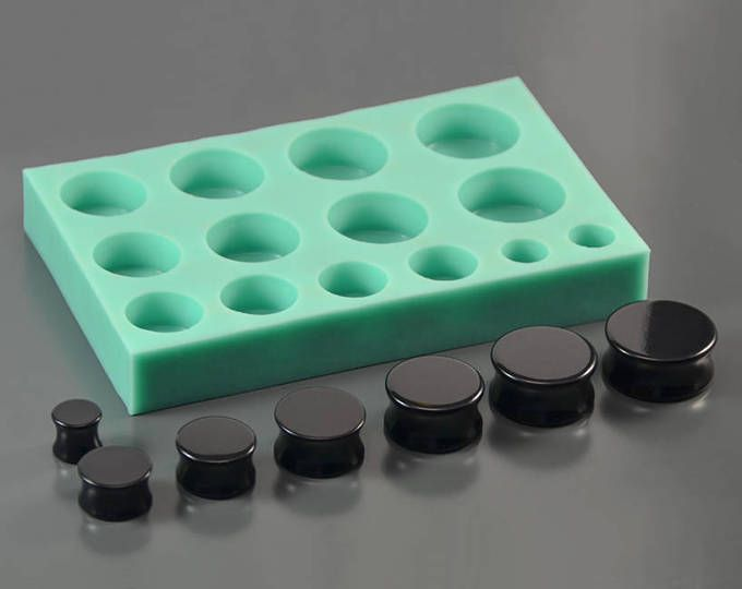 9 Pedazos de Moldes de Silicona para Fabricacion de Joyas Acceesorio de