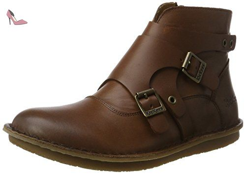 9dc8053c224e6d Kickers Waboot, Bottines Classiques Femme, Marron (Marron), 42 EU -  Chaussures