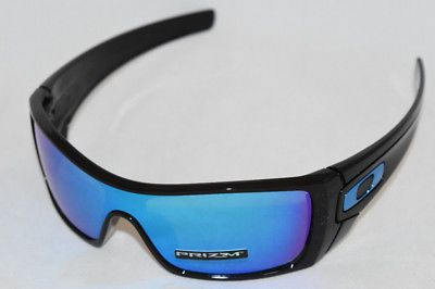 a75f1dee7d NEW OAKLEY BATWOLF POLISHED BLACK WITH PRIZM SAPPHIRE IRIDIUM LENS  OO9101-5827 (eBay Link