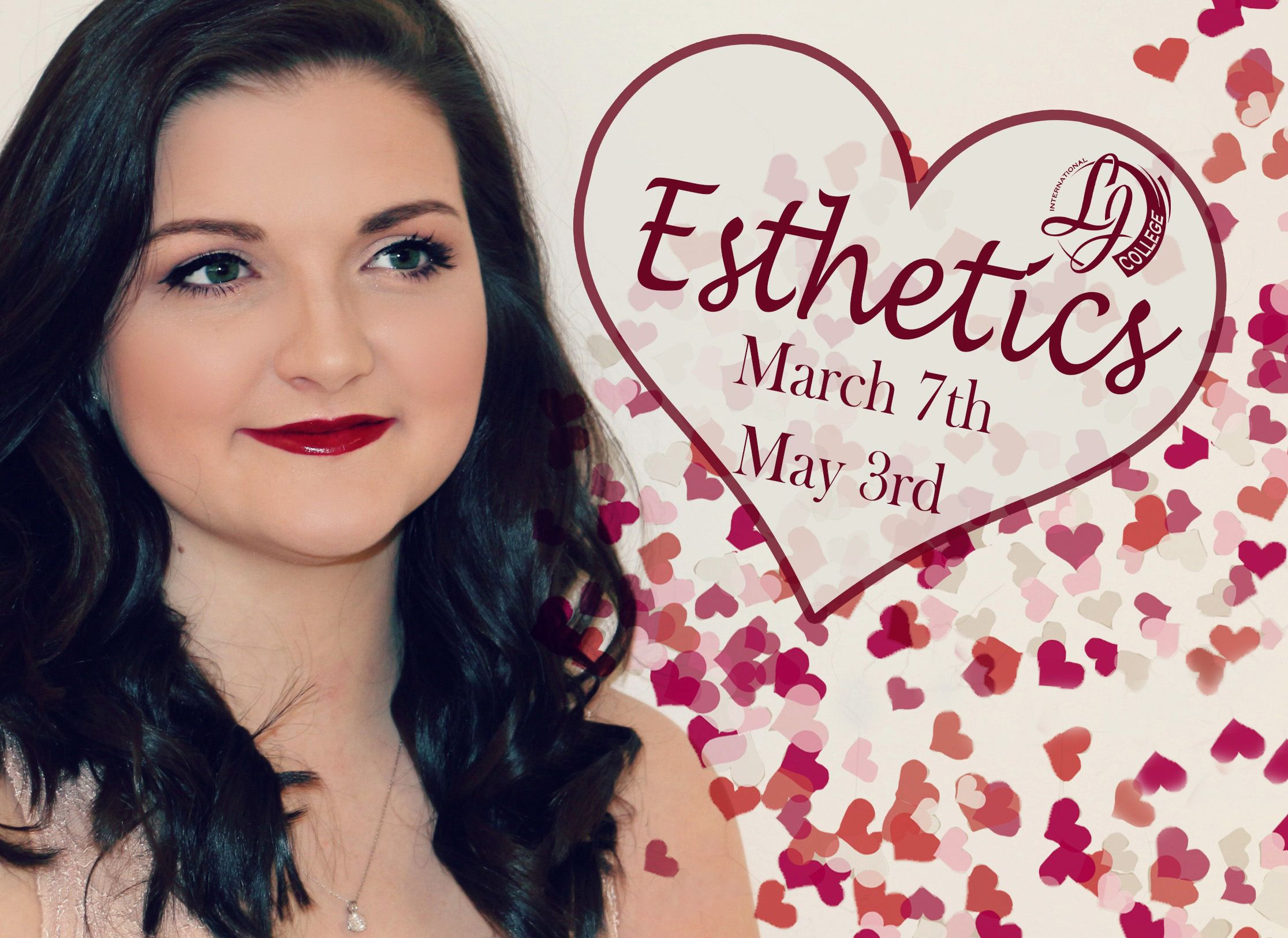 It's time to LOVE what you do!! Enroll today for Esthetics