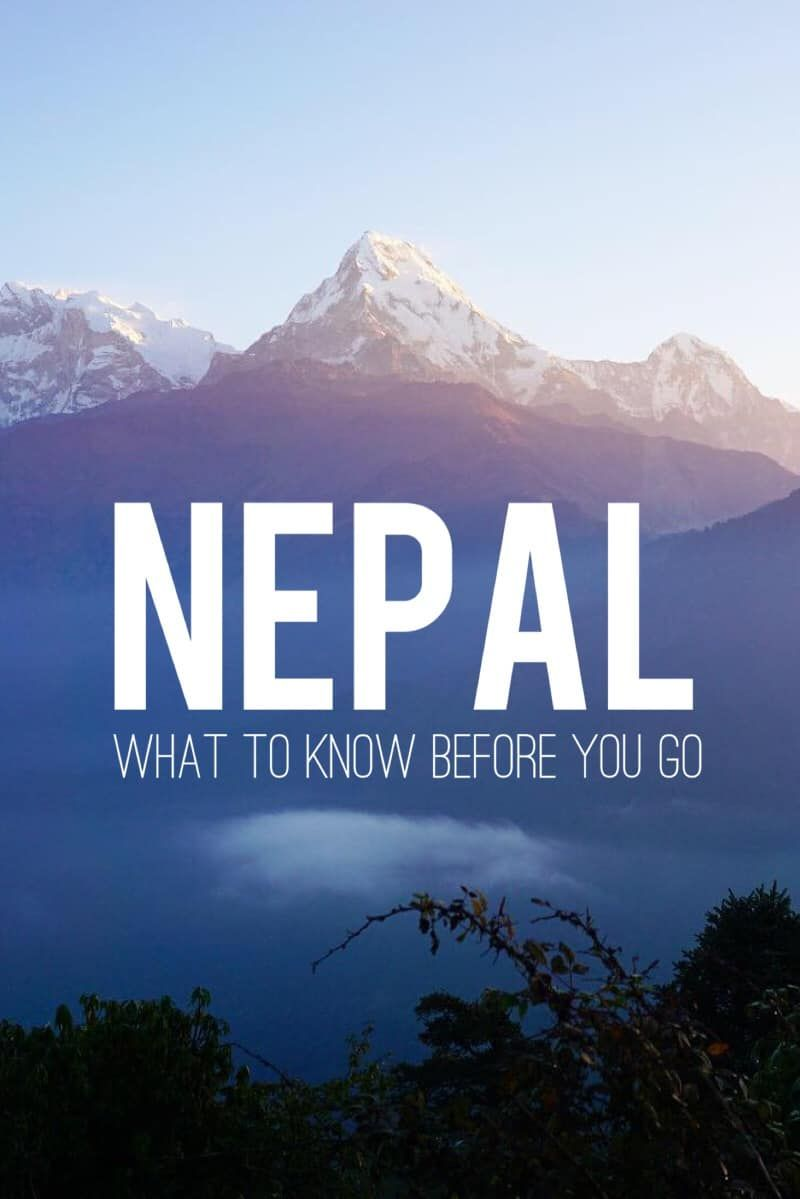 20 Things I Wish I Knew Before Going To Nepal