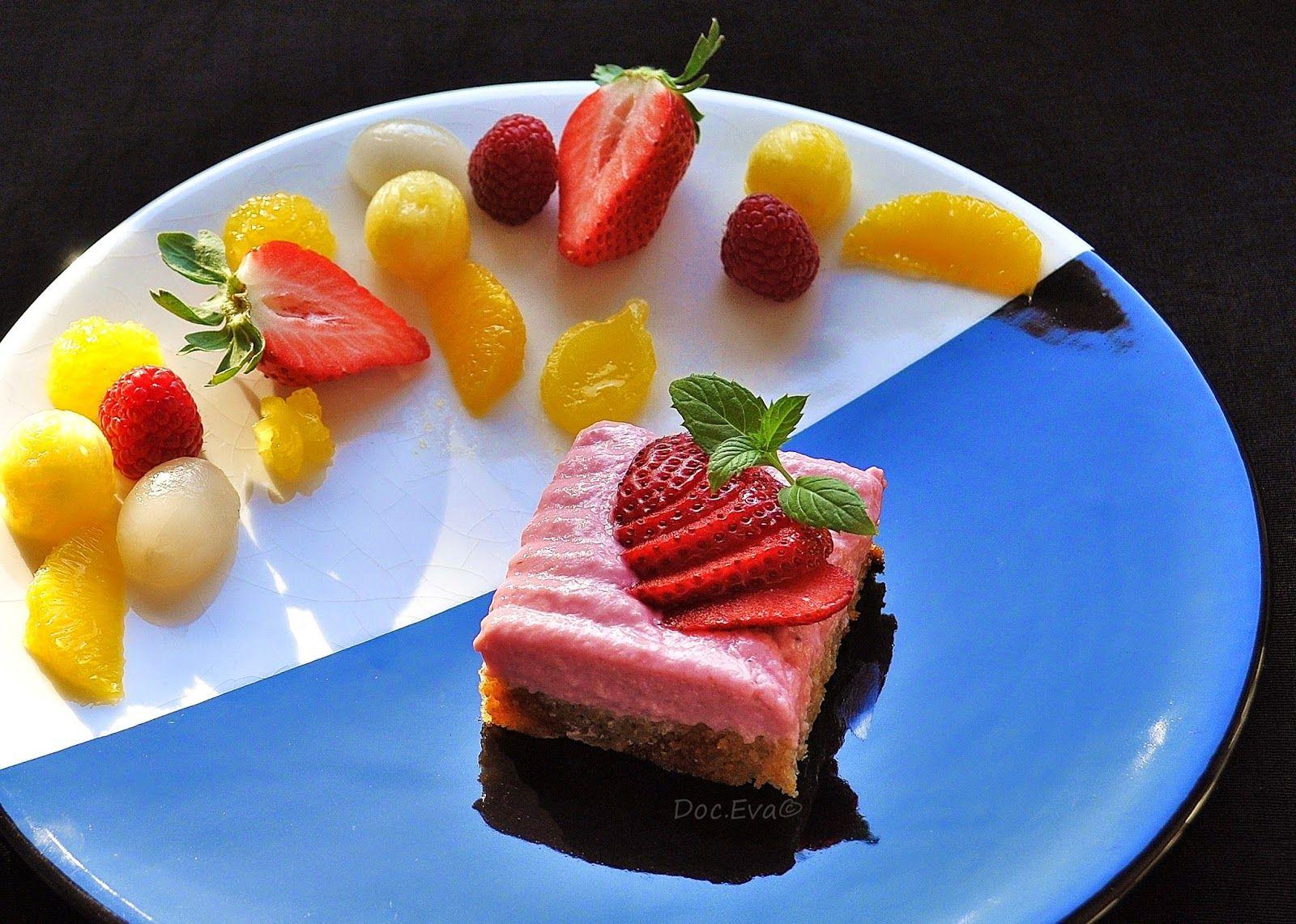 Erdbeerquarkschnitte, Zitruskuchen http://chateau-et-chocolat.de/