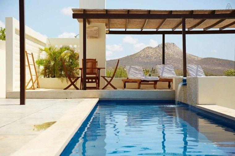 Déco piscine extérieure  50 idées en photos Jacuzzi - photo d amenagement piscine