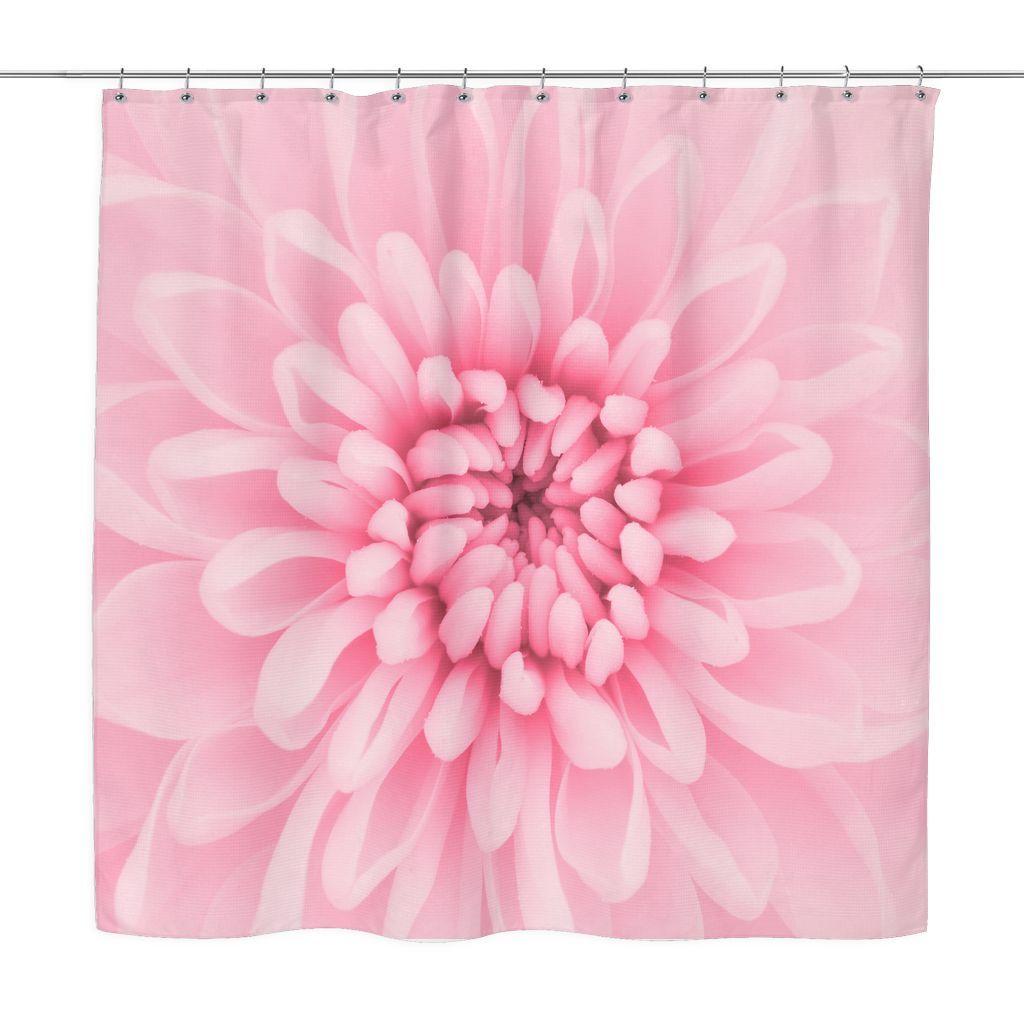 Chrysanthemum flower shower curtain flower shower chrysanthemums