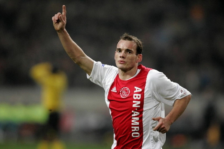 Resultado de imagen para Sneijder ajax