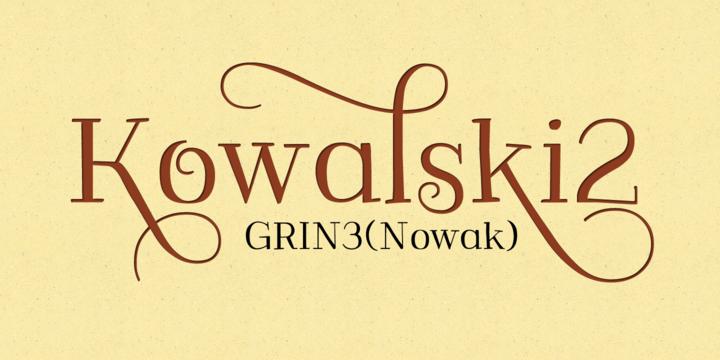 Font dňa – Kowalski2 (zľava 30%, od 10,49€) - http://detepe.sk/font-dna-kowalski2-zlava-30-od-1049e/