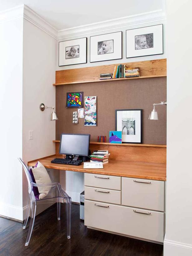 saveemail industrial home office. A Pinboard Fills The Wall In This Niche, Offering Place For Interchangeable Memos And Saveemail Industrial Home Office