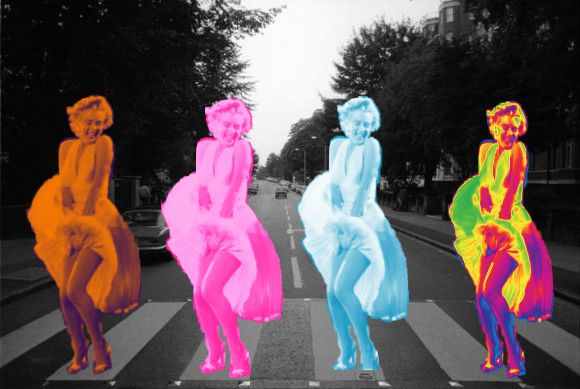 Abbey Road with Marilyn - Michaela Gores.