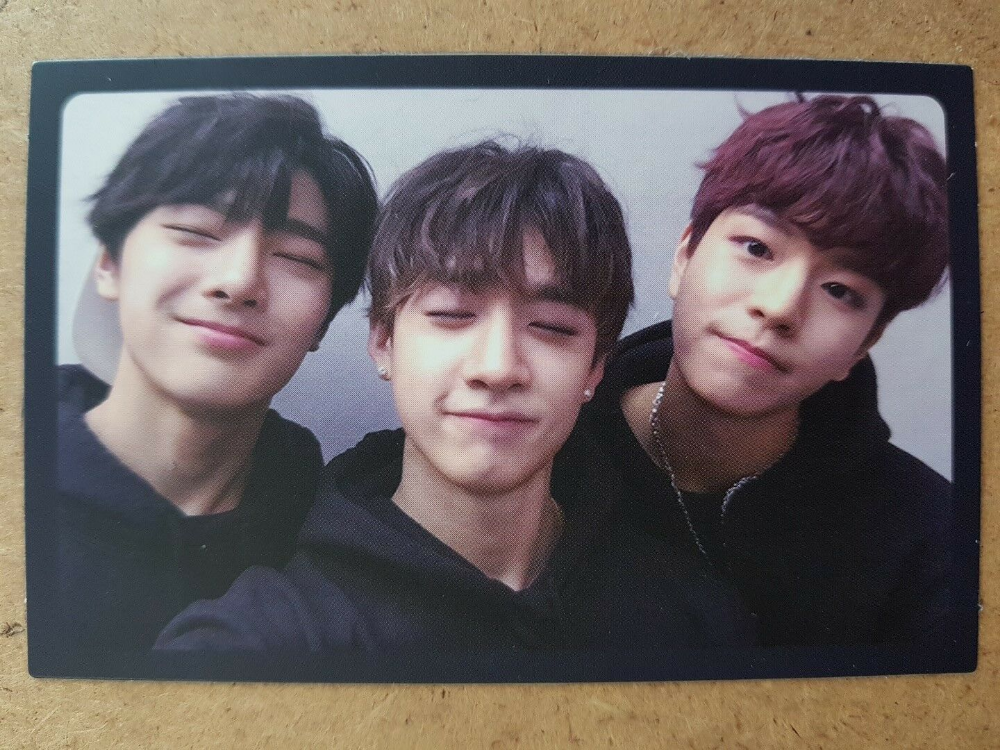 STRAY KIDS Official Unit PHOTOCARD SEUNGMIN BANGCHAN I N 1st