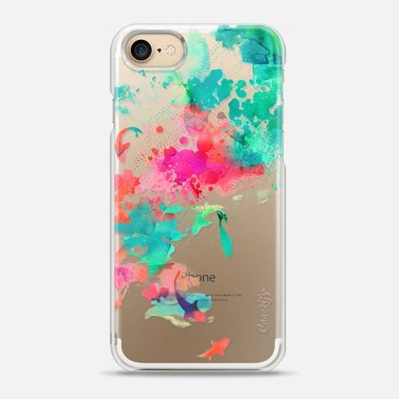 Iphone 7 Case Watercolor Pond By Choma Case Cute Phone Cases