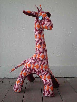 Giraffe Softie...i wonder if they come in kangaroos. @Chelsea Rose ...