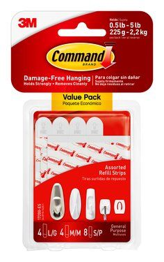 17200-ES Command(TM) Assorted Refill Strips