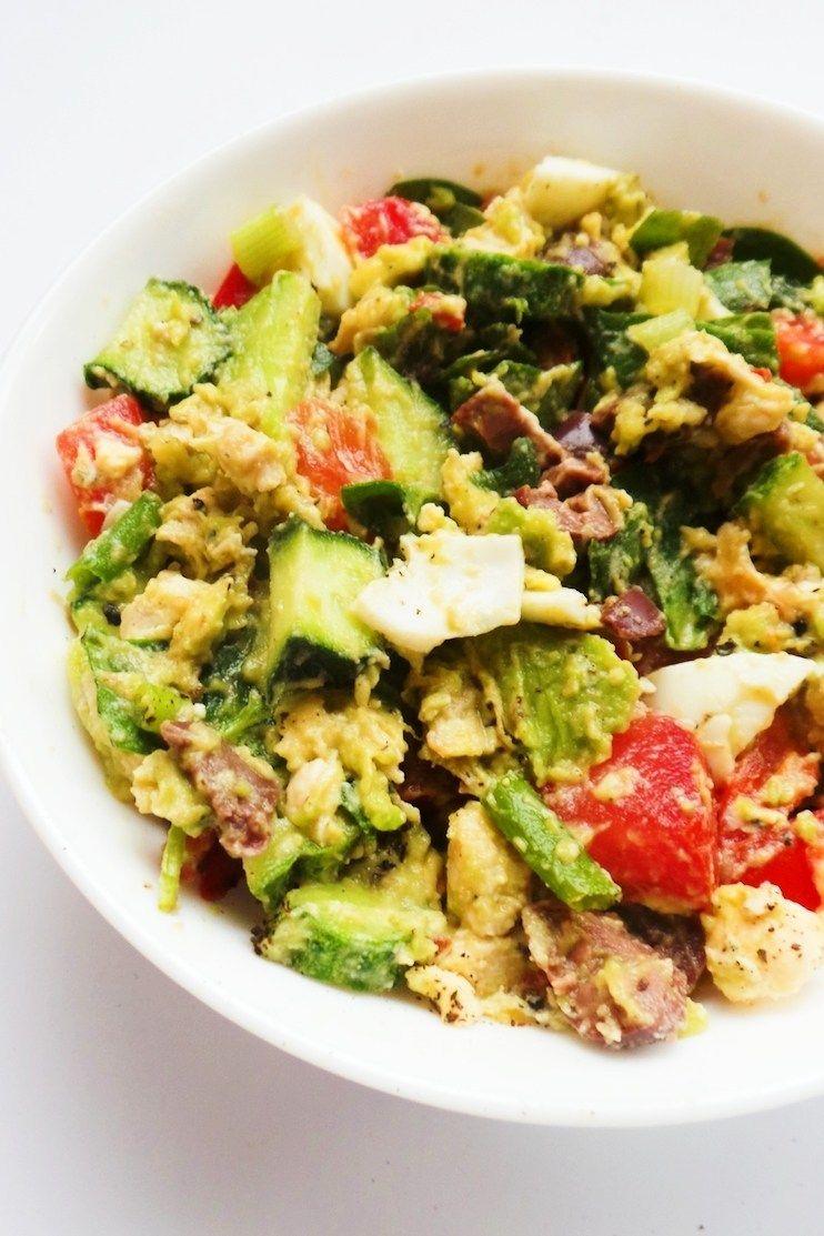 Avocado Quinoa Herb Salad Recipe Food Healthy Salad