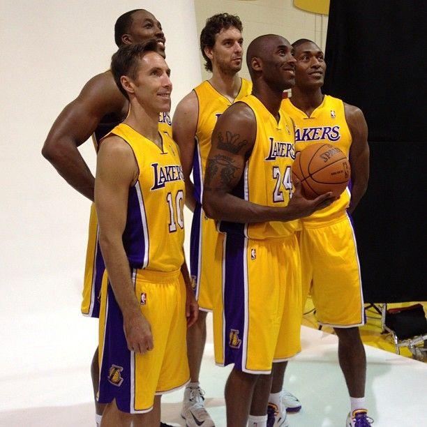 2012-2013 Team Lakers