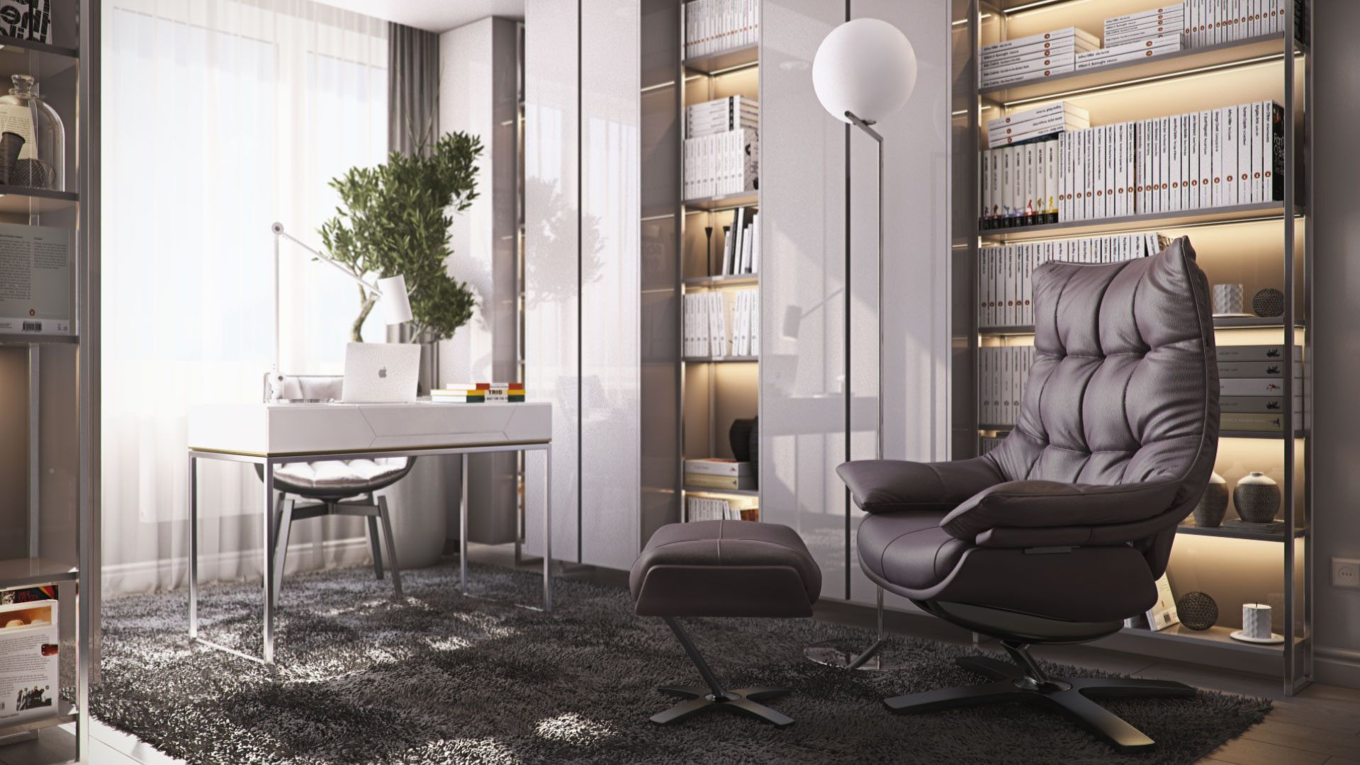 Musa Studio  Interior Design  Gabinet  Pinterest  Studio Entrancing One Bedroom Apartment Designs Example Decorating Inspiration