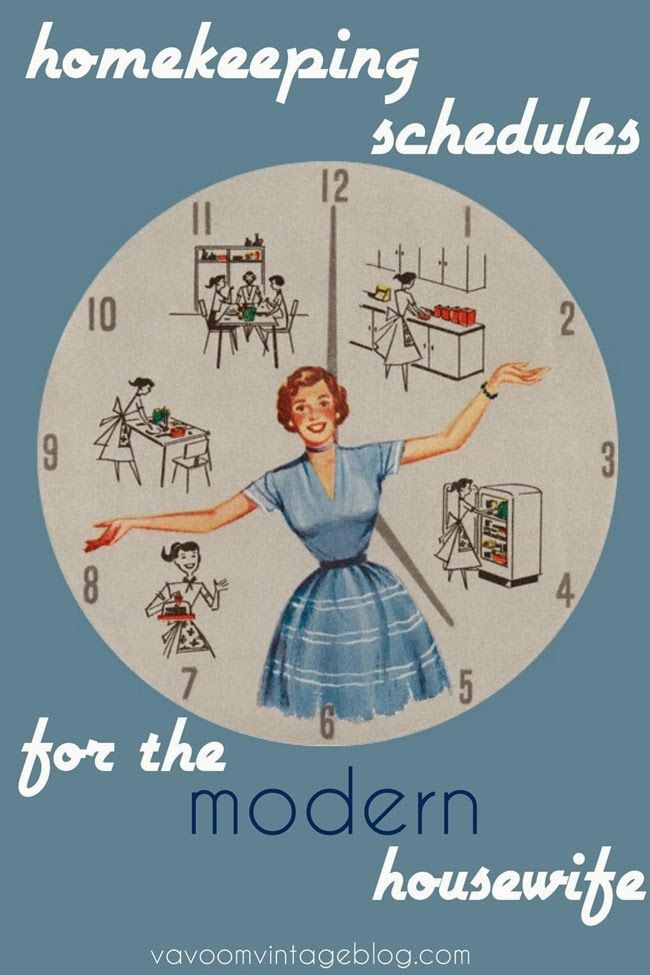 vintage housewife cleaning tips and advice