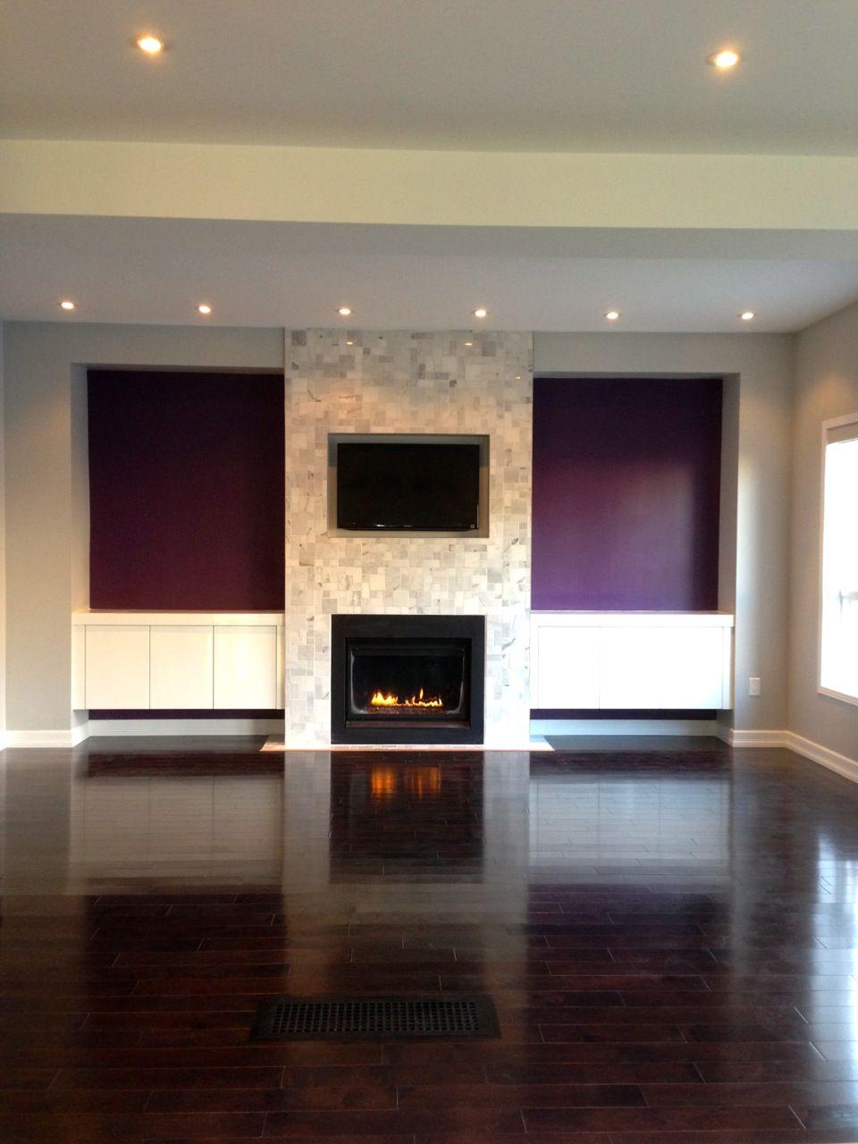 Vertical Wood Wall Living Room