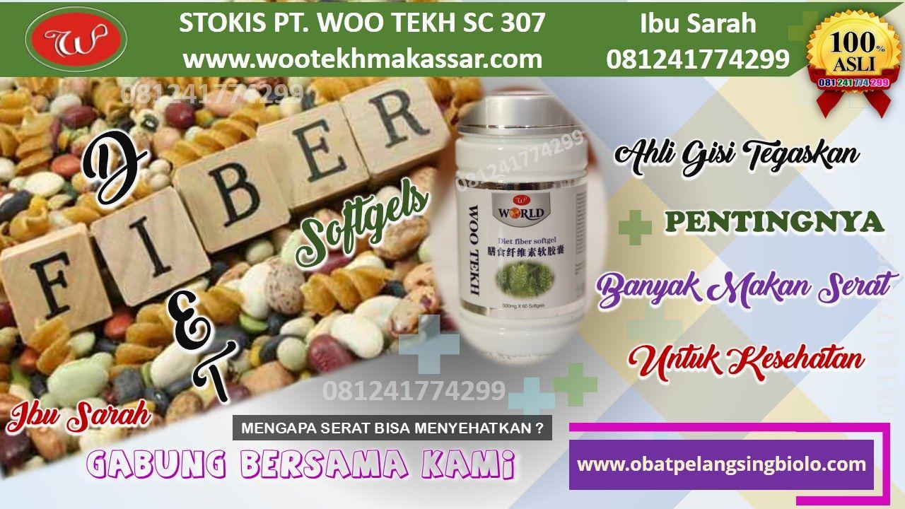 Diet Fiber Softgels Makanan Berserat Tinggi Dari Pt Woo Tekh
