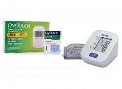 Combo Offer: One Touch Select Simple Meter + Omron BP Machine