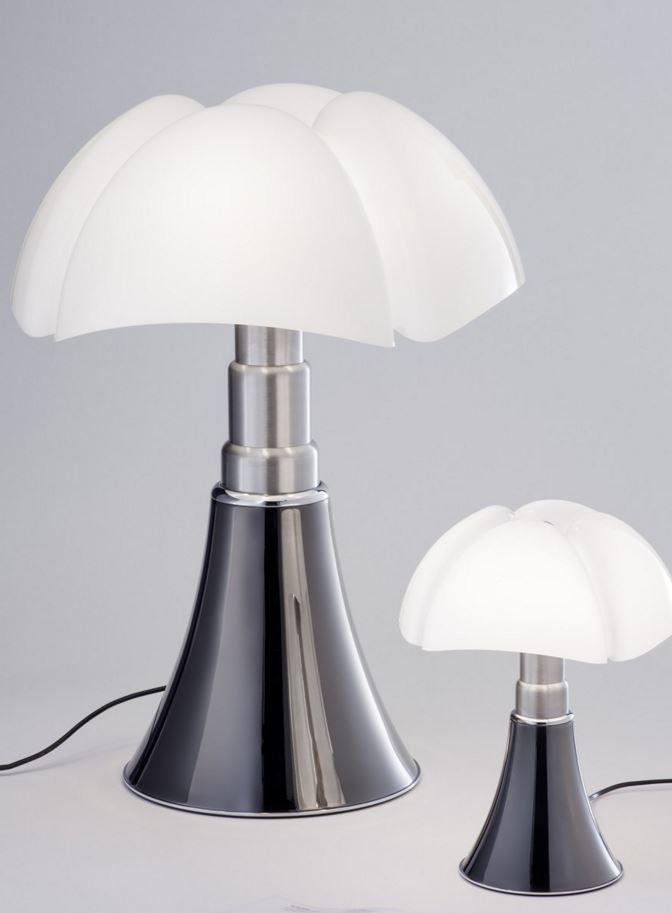 Pipistrello Titanium Finish Lamp Table Lamp Lamp Design