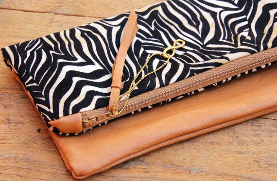 Love this Animal print and Tan leather combo!