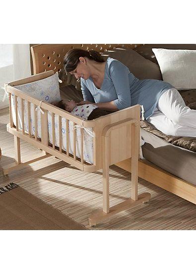 beistellbett aladin mit matratze umbauseite buche massiv natur kinderzimmer pinterest. Black Bedroom Furniture Sets. Home Design Ideas