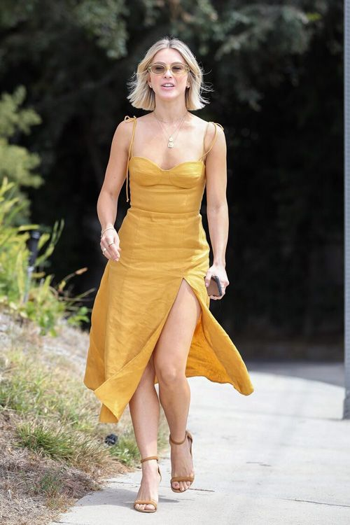 Julianne Hough Looks Bright and Beautiful