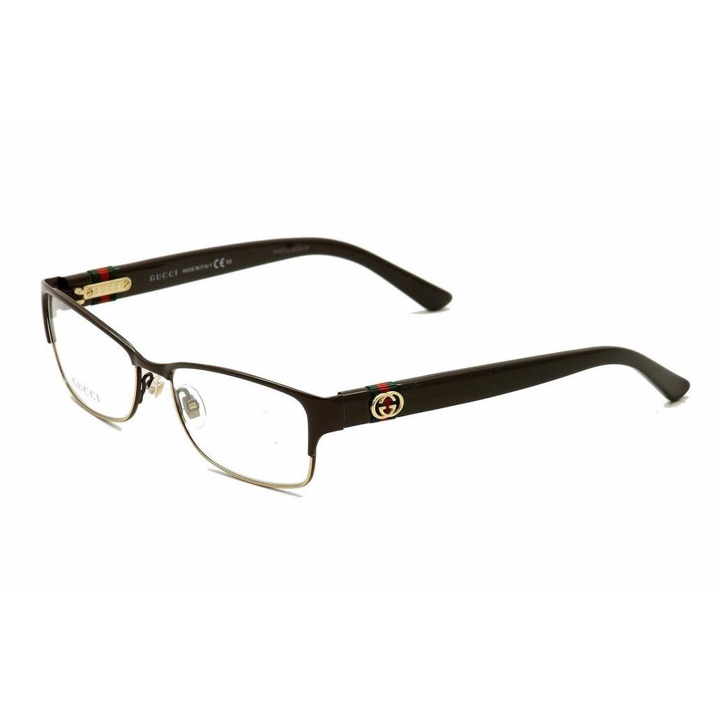 336026c1b942 Gucci 4244 00ZJ Womens Rectangular Eyeglasses Gucci Eyeglasses, Eyeglasses  For Women, Glasses Frames,