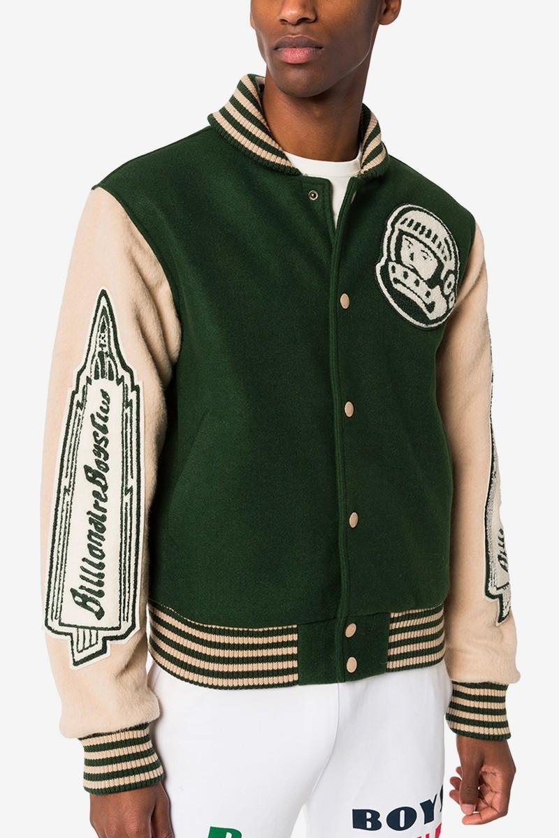 Billionaire Boys Club Craft Woolen Vintage Varsity Jacket Varsity Jacket Men Billionaire Boys Club Varsity Jacket [ 1200 x 800 Pixel ]