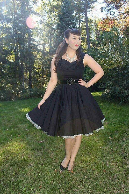 Black and White Petticoat