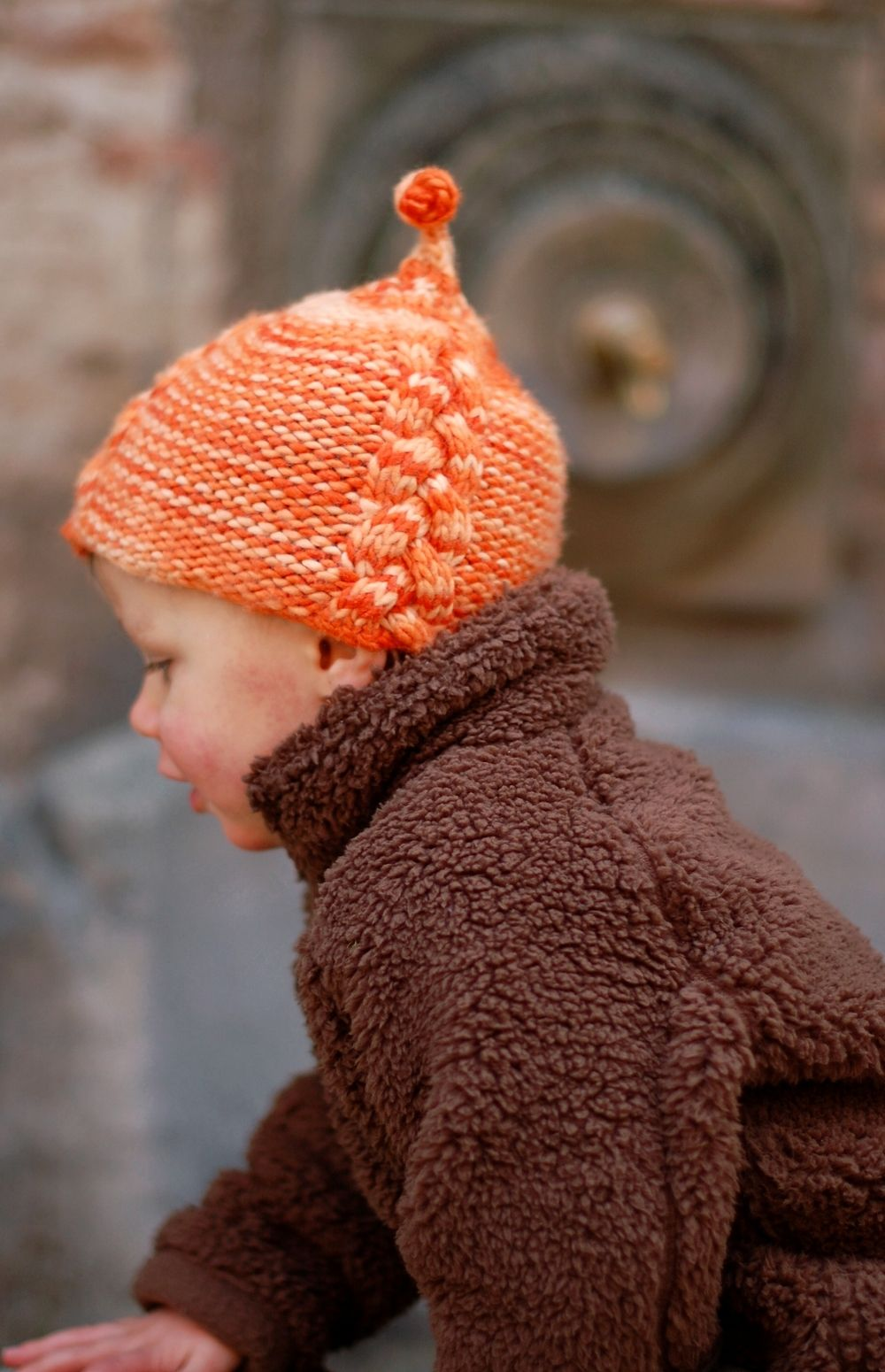 Lollie cable pixie Hat knitting pattern | Seasons | Pinterest ...