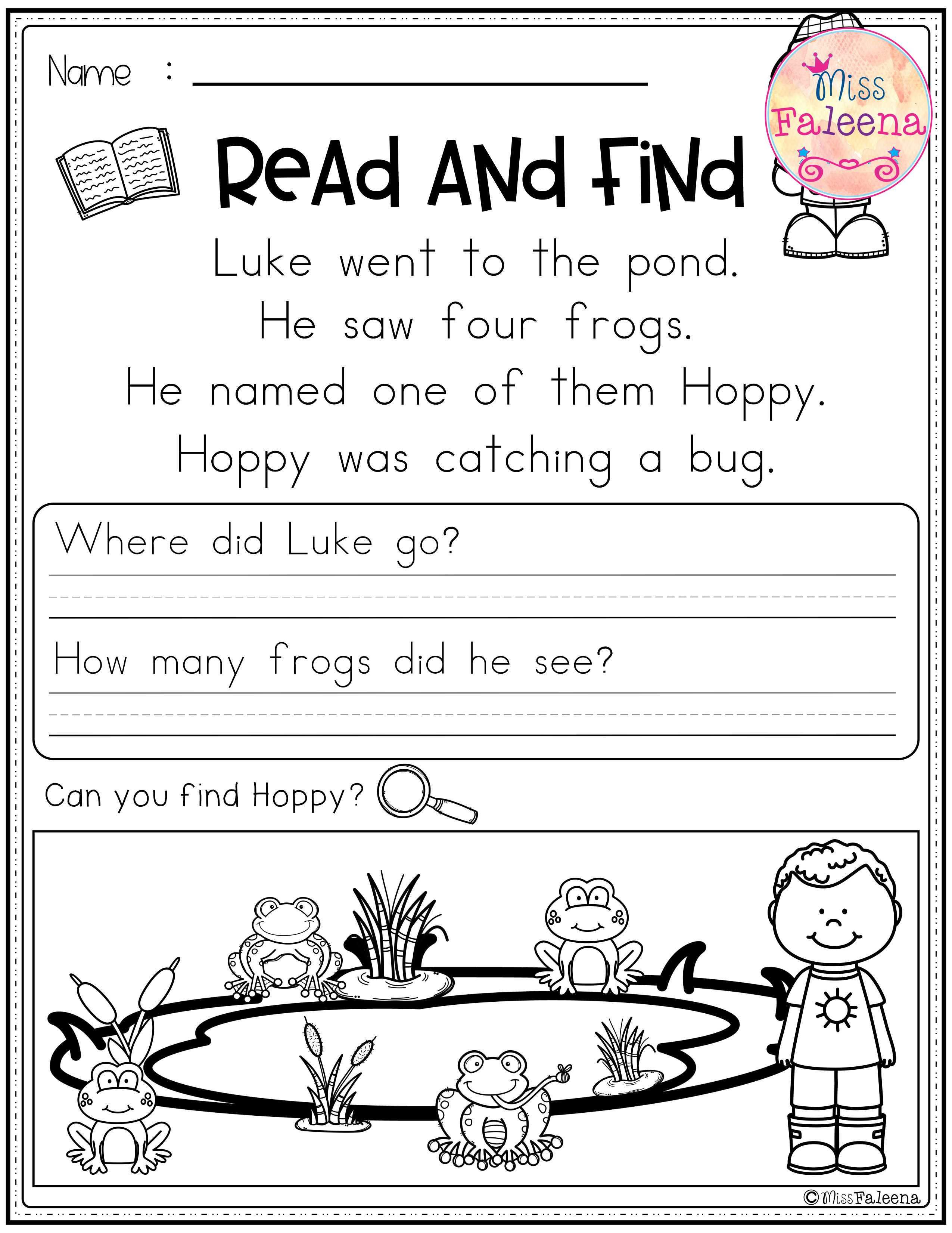 There Are 20 Pages Of Reading Comprehension Worksheet Each Page Contains 3 Or 4 Reading Comprehension Reading Comprehension Worksheets First Grade Worksheets [ 3300 x 2550 Pixel ]