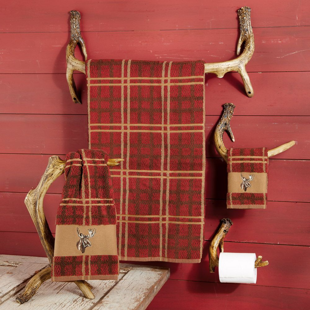 Love this decor - must do at the cabin for the boyfriend  Antler