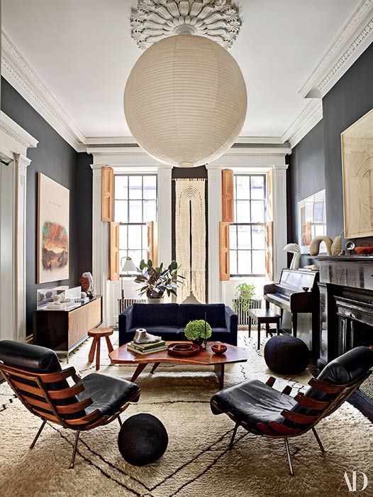 Townhouse Living Room Design: See Inside Julianne Moore's Beautiful New York City