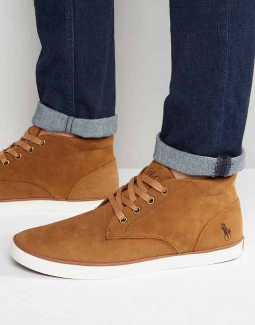 Polo Ralph Lauren Odie Suede Chukka Boots at asos.com