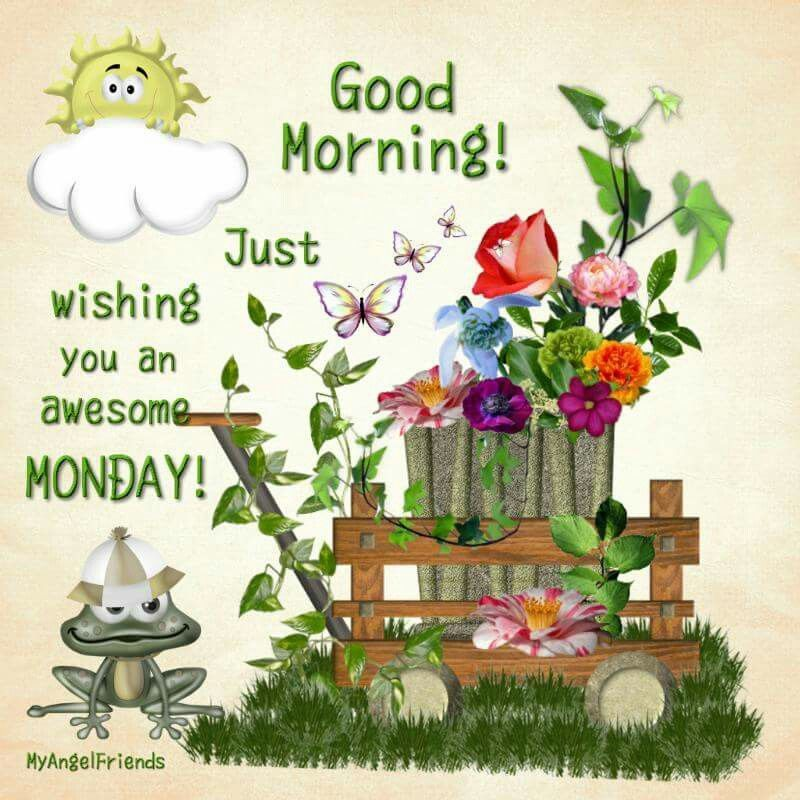 Good Morning Wishing You A Happy Monday Happy Monday Wishes