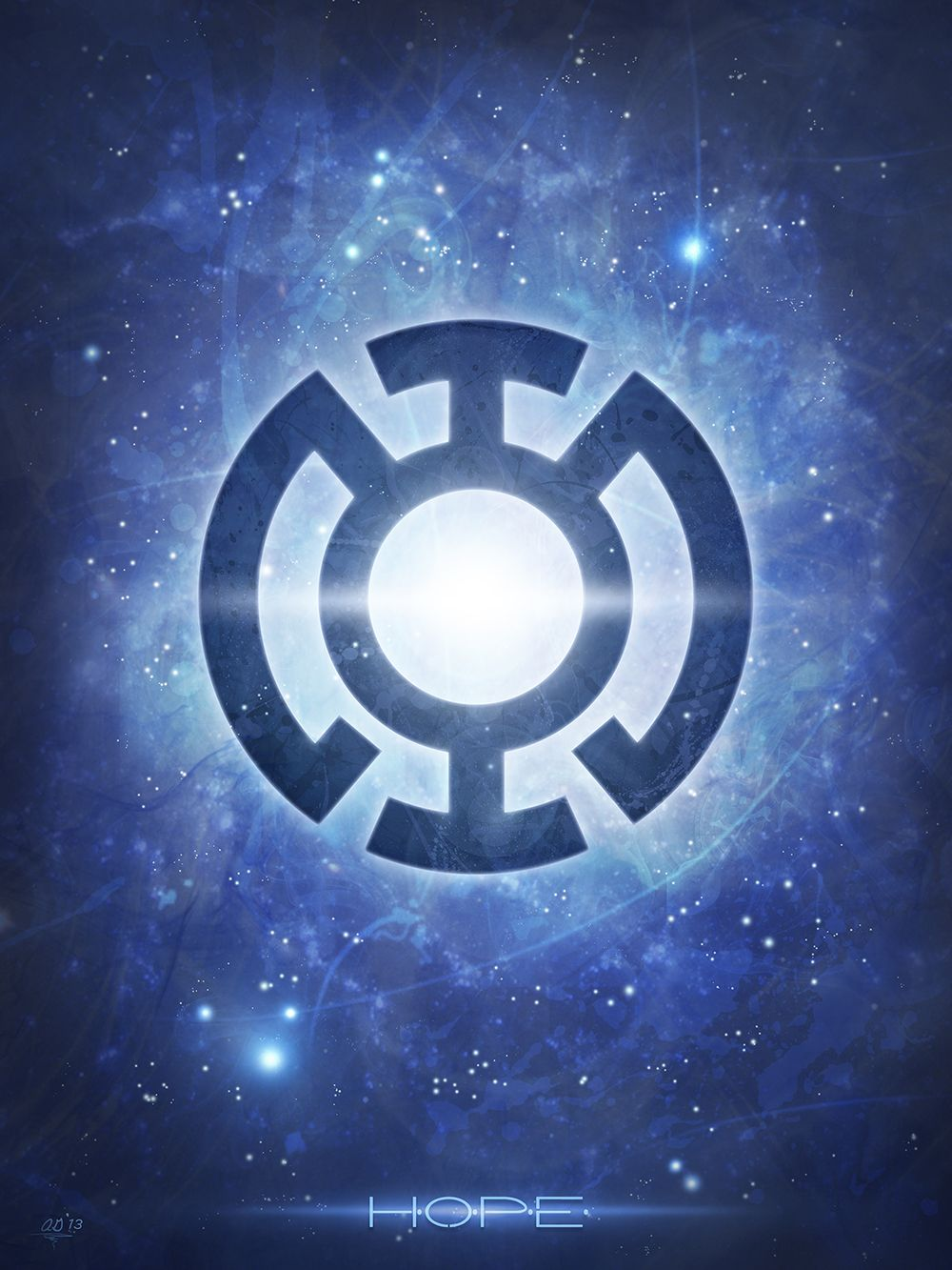 My Lantern Corps Logo Series Inspired By The Dc Universe Of The