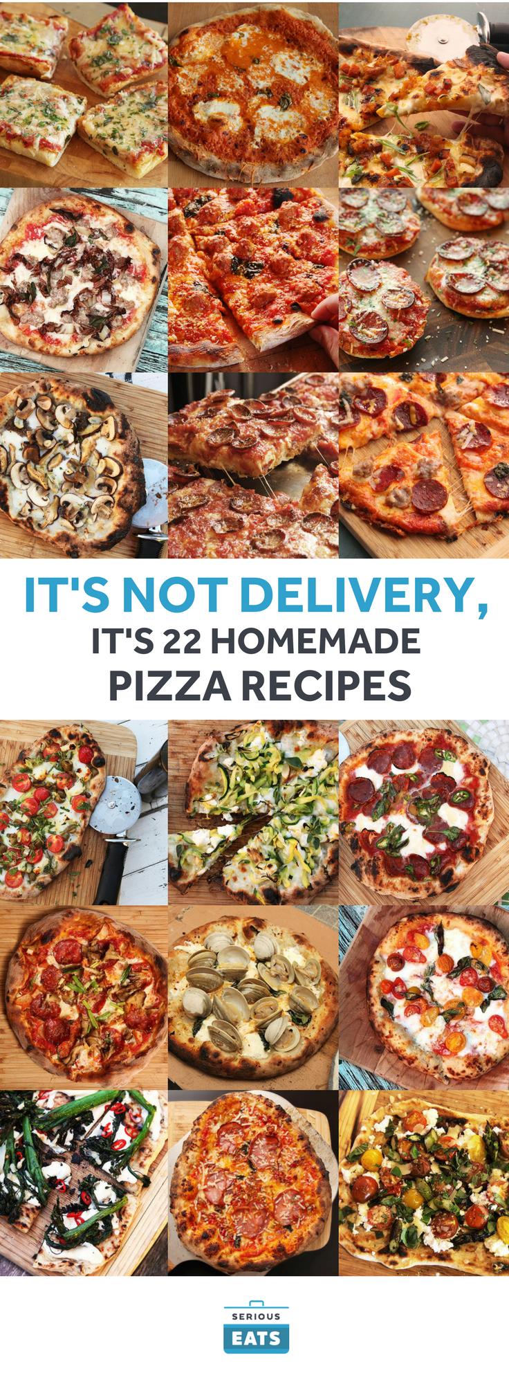 Photo of It's Not Delivery, It's 24 Homemade Pizza Recipes