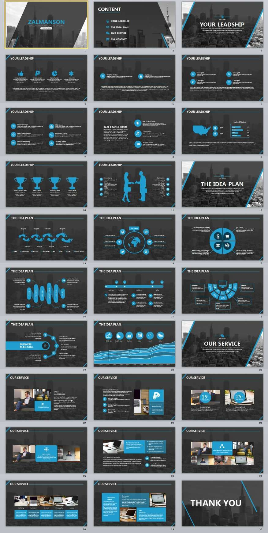 30+ company report powerpoint template | 2018 best chart, Modern powerpoint