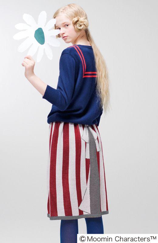 Fashion collection[ファッションコレクション]|おすましセーラー風ニットトップスの会|フェリシモ